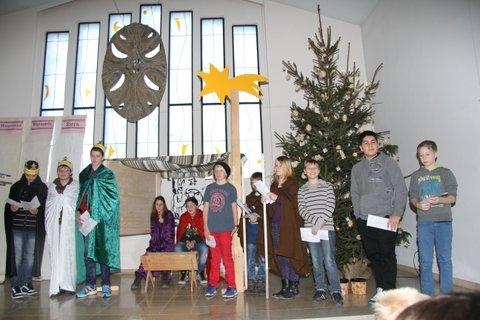 Krippenspiel Weihnachten 2013 (Foto: C. Pietzsch)